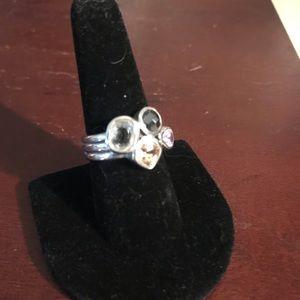 Gem cluster ring